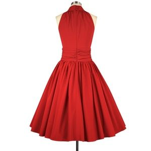 Dresses - Plus Size Pin Up Swing Dance Full Circle Dress